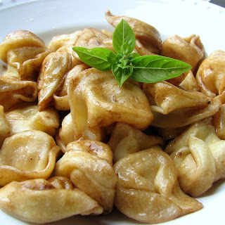Tortellini with Balsamic Brown Butter