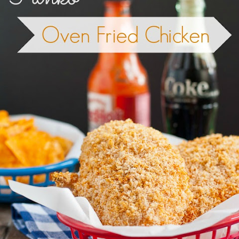 "Crispy Oven ""Fried"" Chicken Breast"