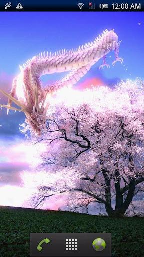 龍神と一本桜
