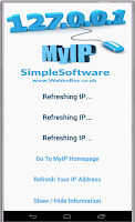 Screenshot of MyIP