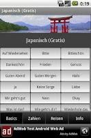 Screenshot of Talk Japanese (Free)