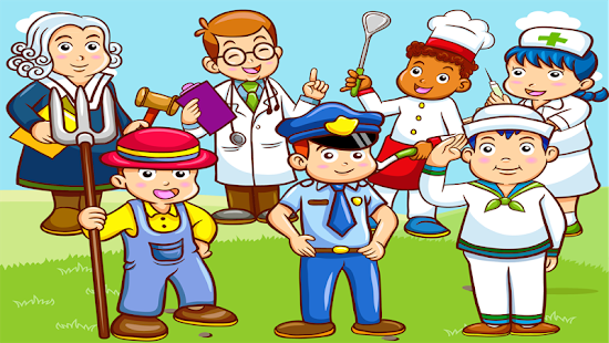 Occupations Puzzle Game apk screenshot