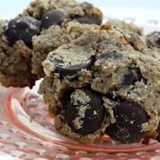 Salted Chocolate Chip Macaroons
