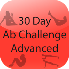 30 Day Abs Challenge Advanced