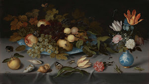 RIJKS: Balthasar van der Ast: Still Life with Fruit and Flowers 1621
