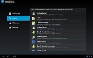 Screenshot of Archos System Monitor (RK)