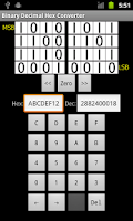 Screenshot of Binary/Decimal/Hex Converter