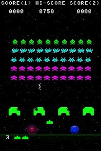 Invaders Game - screenshot