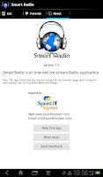 Screenshot of Smart Radio - Listen online