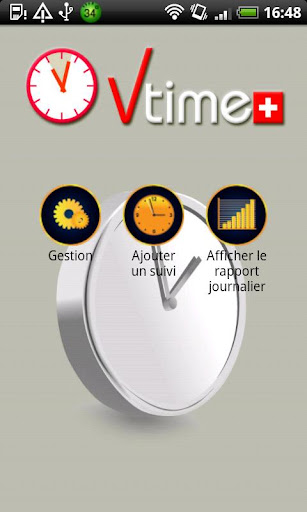 VTime Mobile Time Tracker
