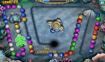 Screenshot of Marble Legend