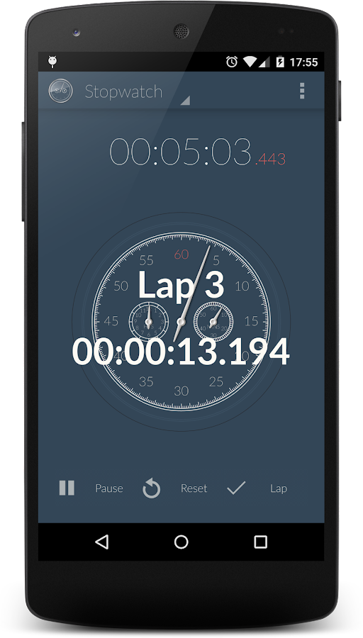 Stopwatch & Countdown Timer + Screenshot