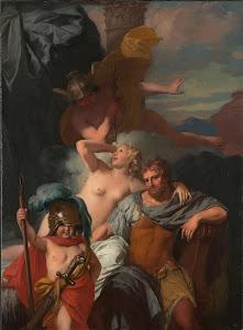 RIJKS: Gerard de Lairesse: Mercury Ordering Calypso to Release Odysseus 1680