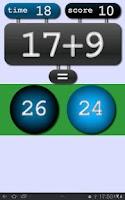 Screenshot of Math Sprint