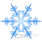 Xmas Snowflakes LiveWallpaper icon