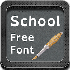 School Fonts for S4