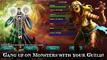 Screenshot of Fantasy Vengeance Strategy MMO