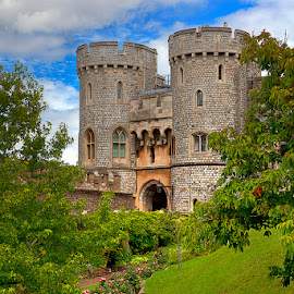 Norman Gate - Windsor Castle by Eitel Bock - Buildings & Architecture Public & Historical ( uk, towers, castle, windsor castle, garden )
