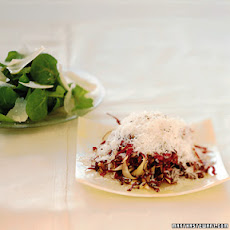 Shredded Radicchio with Parmigiano-Reggiano