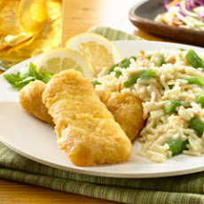 Crunchy Cape Cod Fish & Rice Dinner