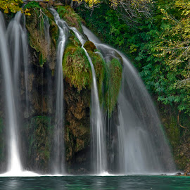 Plitvic Lakes Park by Derek Mair - Landscapes Waterscapes ( nature, waterfall, plitvic, croatia )