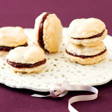 Chocolate-Filled Almond Macaroons