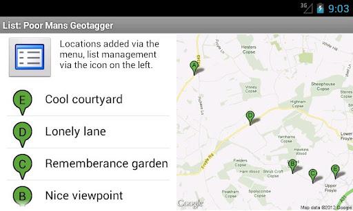 Poor Man's Geotagger