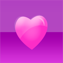 Purple Hearts Keyboard Skin