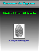 Screenshot of ScanFinger Impressões Digitais