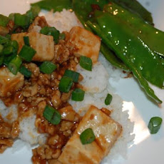 Ma Po Tofu (From Cooking Light)