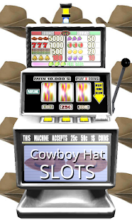 3D Cowboy Hat Slots - Free - screenshot