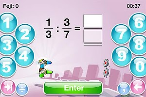 Screenshot of SkoleMat Level 9 gratis