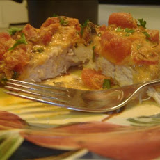 Chicken in Tomato-Basil Cream