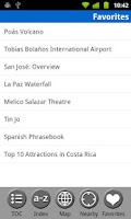 Screenshot of Costa Rica - Travel Guide