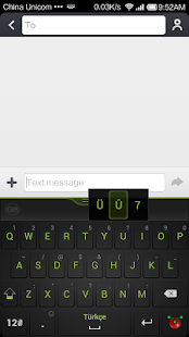 Guobi Turkish Keyboard - screenshot