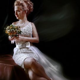bride by Dejan Nikolic Fotograf Krusevac - Wedding Bride ( kraljevo, scilajnac, vencanje, jagodina, snasa, krusevac, kragujevac, vencanica, bidermajer )