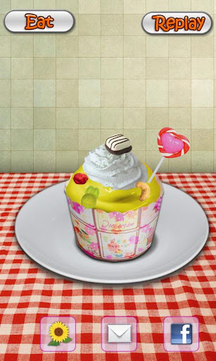 cupcake-maker-cooking-game for android screenshot