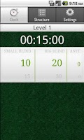 Screenshot of Simple Poker Clock Donate