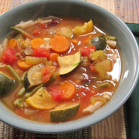 My Gluten-Fee, Vegan Minestrone