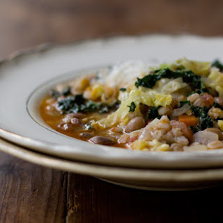 Simple Farro & Bean Stew