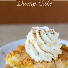 Pumpkin Cream Cheese Dump Cake