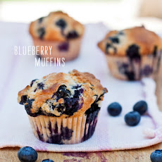 Gwyneth's Mom Blythe's Blueberry Muffins