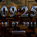 PARIS Digital Clock Widget icon