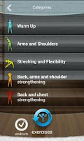 Screenshot of idoo - fitness workouts