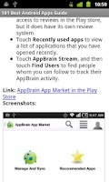 Screenshot of 101 Best Android Apps Guide