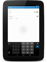 Screenshot of CashFlow Free Expense manager