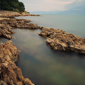by Giancarlo Ferraro - Landscapes Waterscapes ( water, smooth, swim, beach, rocks )