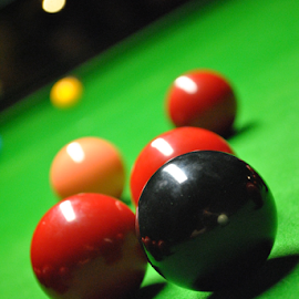 by Gav Wyatt - Sports & Fitness Cue sports