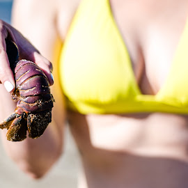 Shellfish and Boobs by Angelo Perrino - People Body Parts