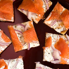 Lox Flatbread Recipe